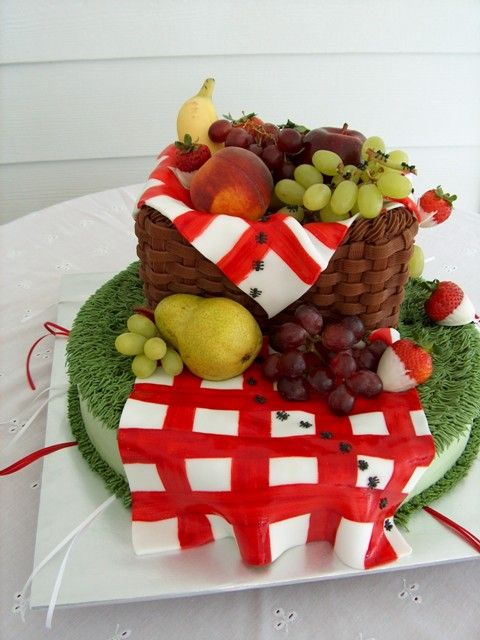 82 Best Bbq Picnic Cakes Images On Pinterest
