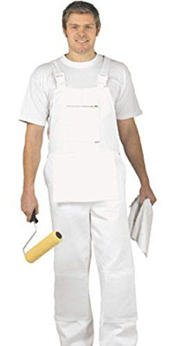 Cheap Portwest White Bib and Brace Overalls Painters Decorators Coveralls Dungarees BN deals week