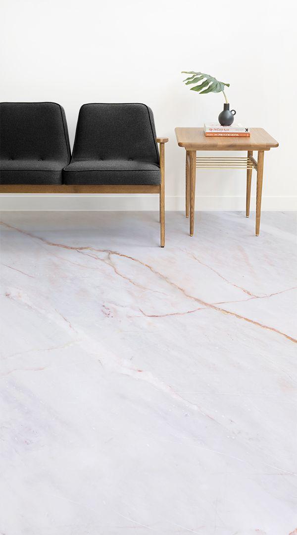 Mero Vinyl Flooring Marble Living