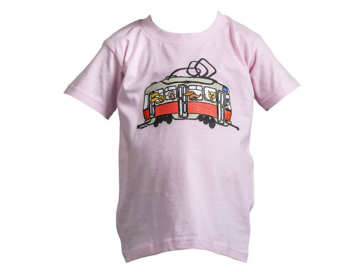 Tétrojka se zvířátky. Dětské tričko s potiskem tétrojky se zvířátky.