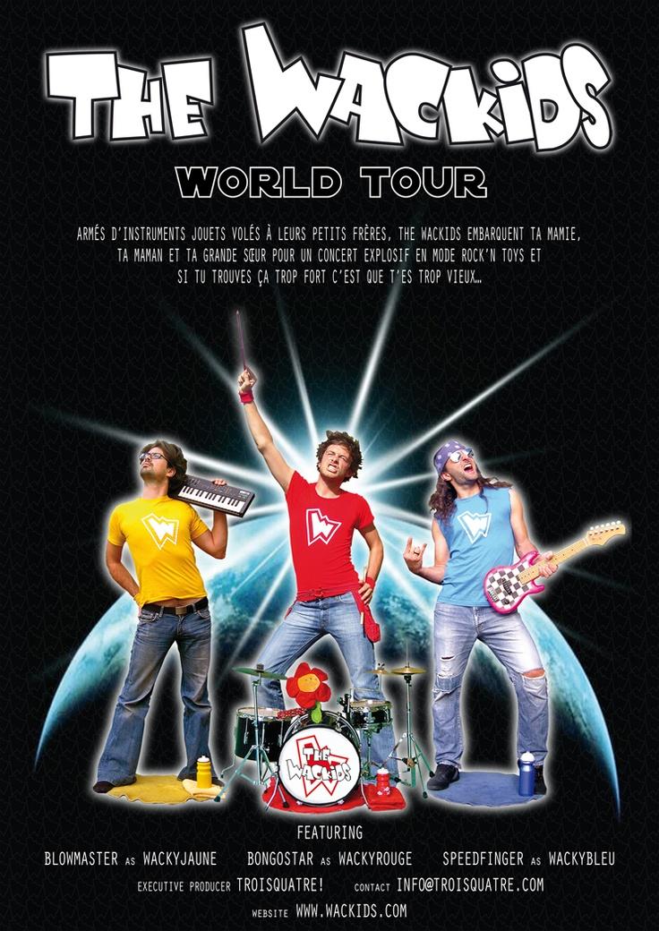 The Wackids, du Rock'n'roll pour les kids ! Mais c'est complet :-(