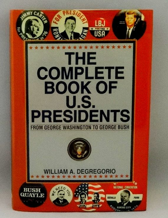 Book of US Presidents  Washington to George Herbert Walker