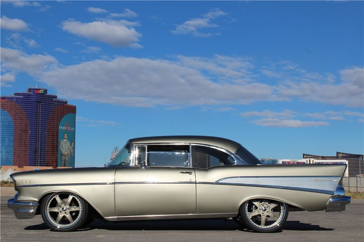 1957 CHEVROLET BEL AIR  - Side Profile - 203564