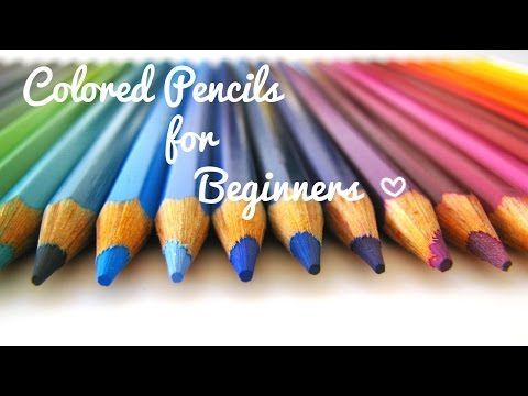 Basics to blending in colored pencil - prismacolor & polychromos w/ Lachri - YouTube