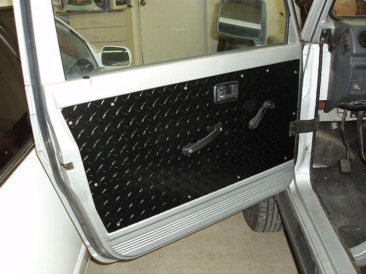 Suzuki Samurai Black Front Door Panels Set Of 2