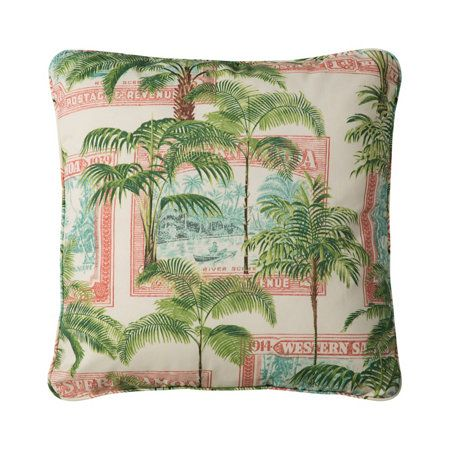 Outdoor Cushions-Island Breeze Print