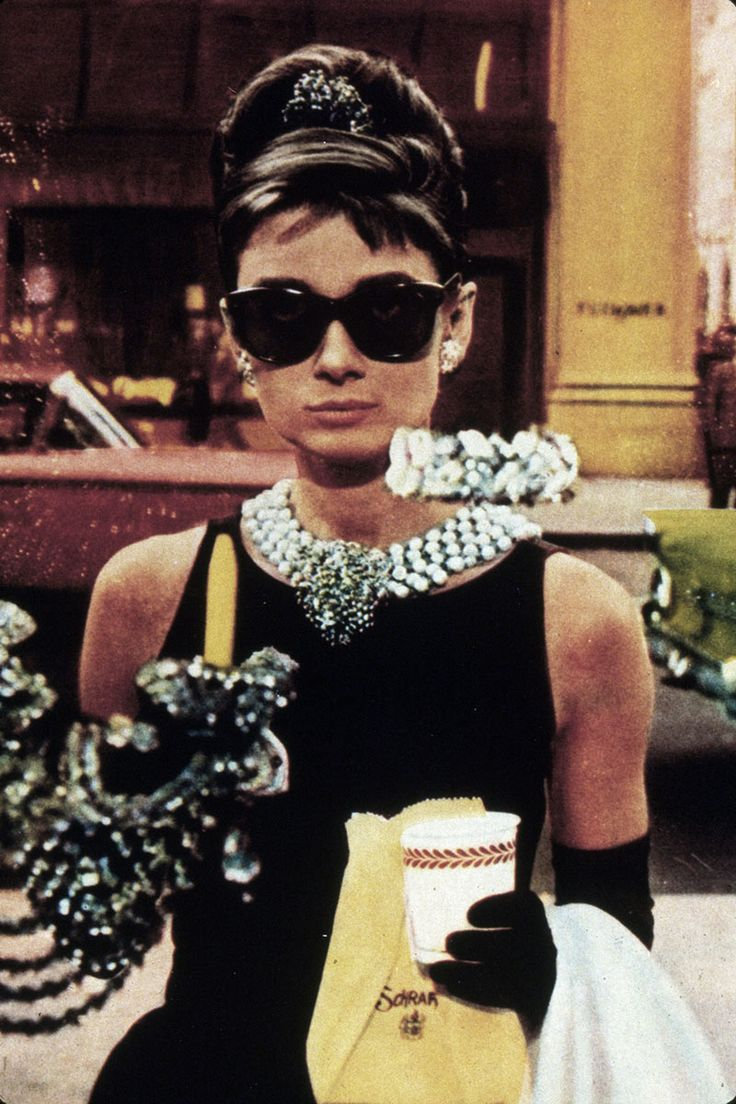 Audrey Hepburn en Desayuno con Diamantes