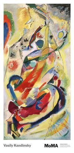 Pintura número 200 Poster por Wassily Kandinsky na AllPosters.com.br