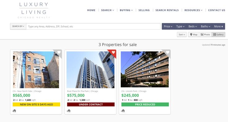 We're proud to announce we have a new sales-focused real estate website offering Chicago real estate listings and homes for sale - check it out at LuxuryCondosChicago.com #LuxuryLiving #ChicagoLiving