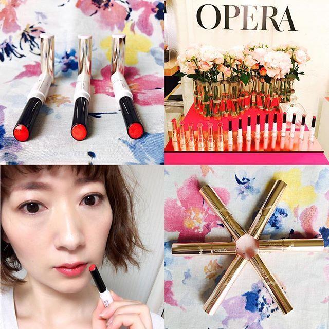 "2016/10/30 22:30:32 yumiku_dayon 集英社マキア 公式ブログを更新しました。  最近毎日のルージュ選びが楽しみに💄💋✨ 肌との相性に悩まずに#直感 で選べる、ハマる、なじむ#OPERA #オペラ の#ルージュ をご紹介しております。  #プチプラ とは思えない 新生OPERAの高機能ルージュ。  素敵なブランドさんに出会えた#展示会 #CreationAmour #クリエーションアムール に感謝です🙏❤️ ""落ちない""けど ""透けるキレイ色""つづく♡ 新生OPERAの美容液ルージュの魅力  https://maquia.hpplus.jp/blog/account/yumi_maquia/makeup/EBCQFQI  #maquia#maquiaonline#マキア#OPERA#operacosmetics #makeup#rouge#💋#💄#リップティント#シアーリップカラー#花嫁リップ#コスメ#美容#読者モデル#美容ブロガー#writer#口紅#ルージュ#リップグロス#美容液#リップケア#赤リップ#モテリップ  #美容"