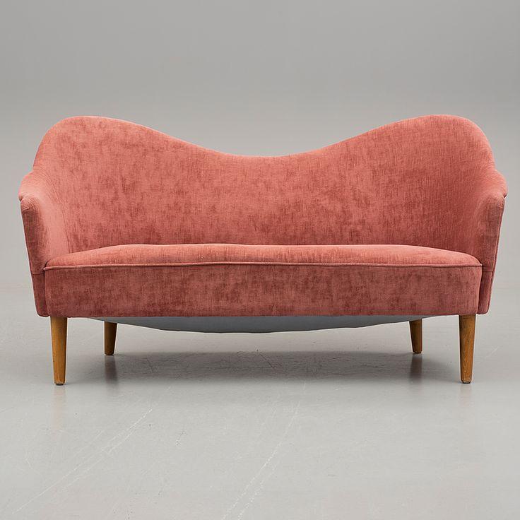 """CARL MALMSTEN, """"Samspel"""", soffa, 1900-talets andra hälft."""