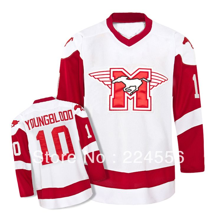 Find More Sports Jerseys Information about Wholesale jerseys #10 YOUNGBLOOD Movie Hamilton MUSTANGS ice hockey jersey Customized Any Name And Number Swen On YL 6XL,High Quality jersey redskins,China jersey pack Suppliers, Cheap jersey de futbol soccer from Jerseys World's store on Aliexpress.com