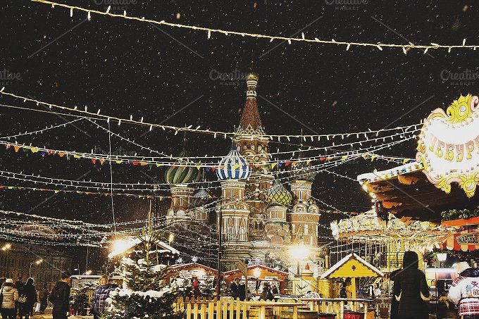 New Year in Moscow by NataliaGubina Photography on @creativemarket