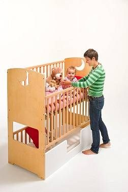 25 best ideas about bunk bed crib on pinterest small for Double decker crib