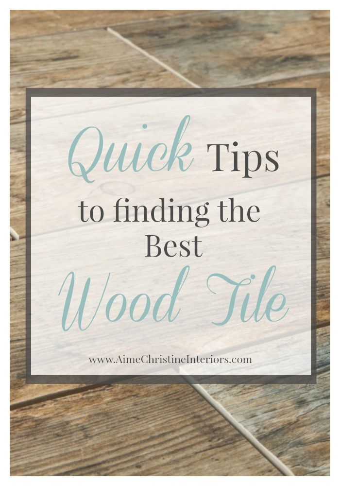 Kitchen Tile Options top 25+ best wood look tile ideas on pinterest | wood looking tile