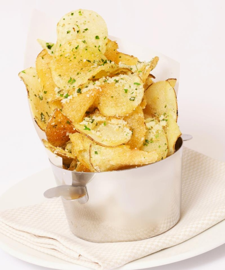 parmesan-truffled potato chips | Gotta try these! (Recipes) | Pintere ...