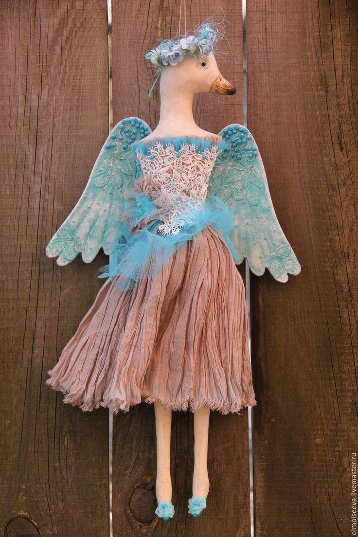 Купить Птица Асман (небесная) - бирюзовый, оберег для дома, оберег, подарок, интерьерная игрушка