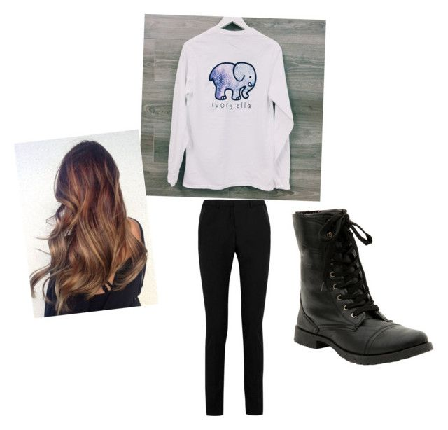 Casual Wednesday Outfit by lexi-ringuette-pennock on Polyvore featuring polyvore, fashion, style, Yves Saint Laurent and clothing