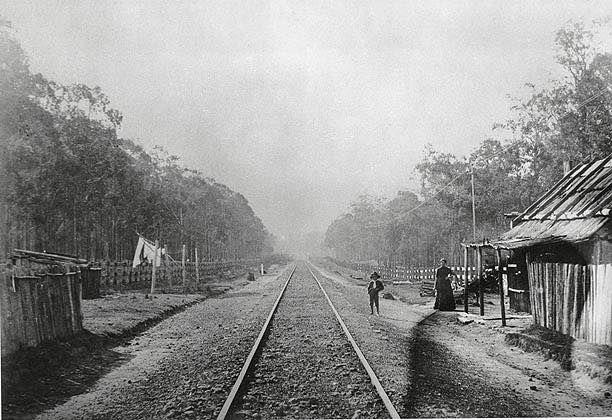 Toongabbie railway station, 1880s State Records