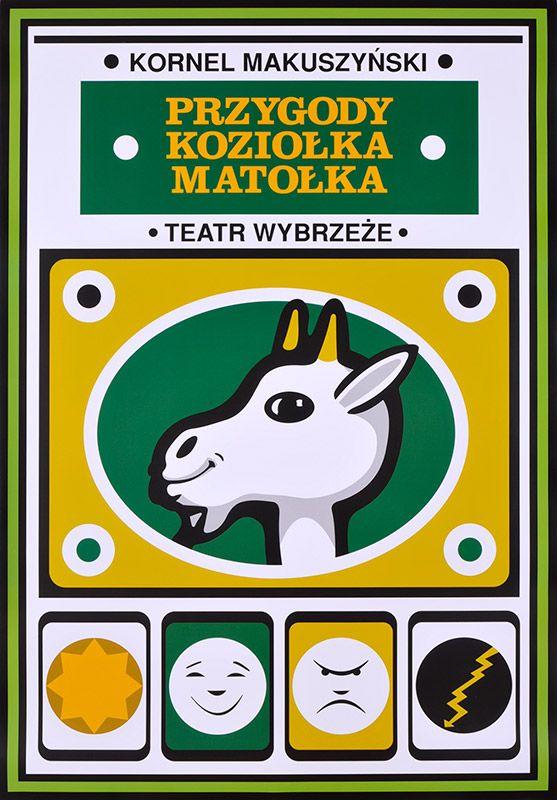 Maciej Hibner, Przygody Koziołka Matołka (z), 2016, Size: B1