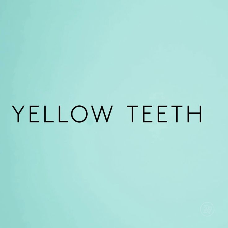 This is the best DIY fix to combat yellow teeth!
