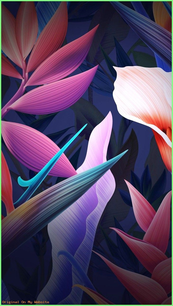 Fond D Ecran Huawei Papier Peint Huawei 720x1280 Fleurs Feuilles Colore Huawei Mate 10 En 2020 Fond D Ecran Colore Fond D Ecran Huawei Fond Ecran