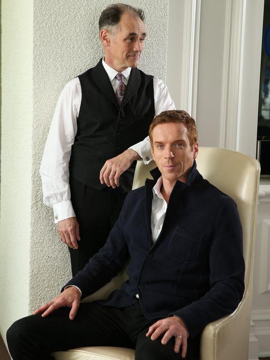 Mark Rylance & Damien Lewis in Wolf Hall