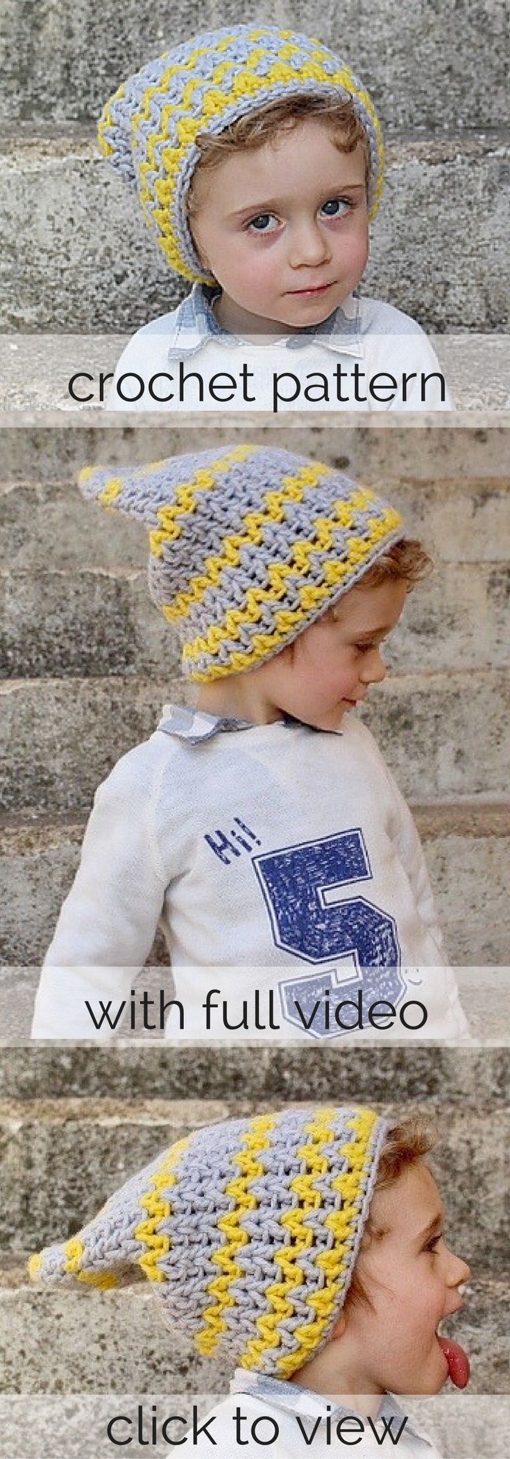 Best 25 toddler beanies ideas on pinterest puff stitch crochet slouchy toddler beanie with a chevronzig zag look pattern comes with a full bankloansurffo Gallery