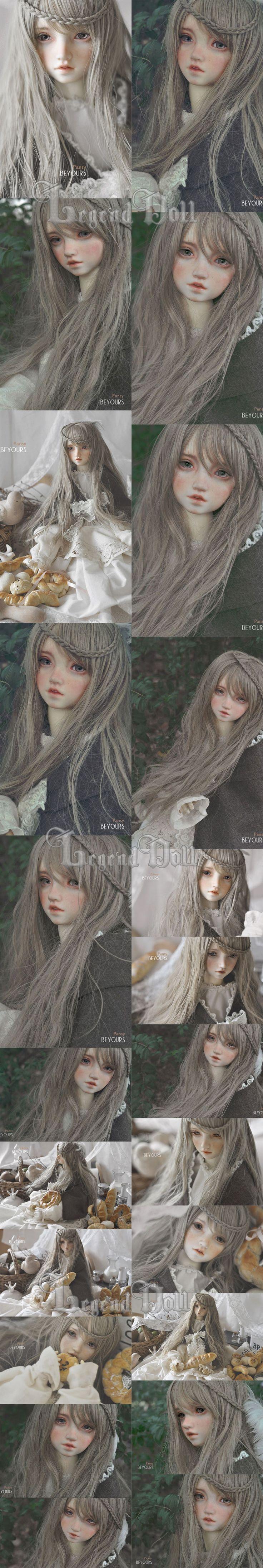 球体関節人形 三色菫 女 60.5cm