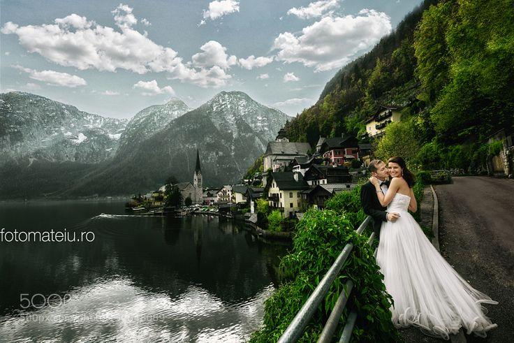 #nancyavon from www.bit.ly/jomfacial Sharing a light moment with your love dear! Hallstatt Love by fotomateiu