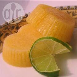 Апельсиново-ананасовое мороженое-сорбет