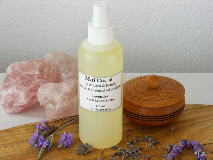 Mai Co Lavender Air & Linen Spray helps if you are feeling stressed and one edge...with difficulty sleeping! Spray and your pillow and around your room before bed time and feel the stress just slip away.......