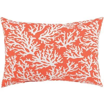 Home Decorators Collection Faylinn Mandarin Standard Outdoor Lumbar Pillow 2288410580    The Home Depot