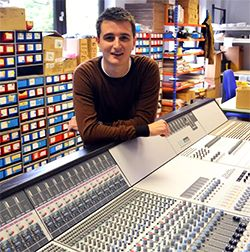 Audient Names Chris Wright New UK Market Manager - Pro Sound Web