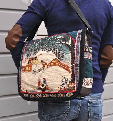 dutch sisters: Winter wonder bag,