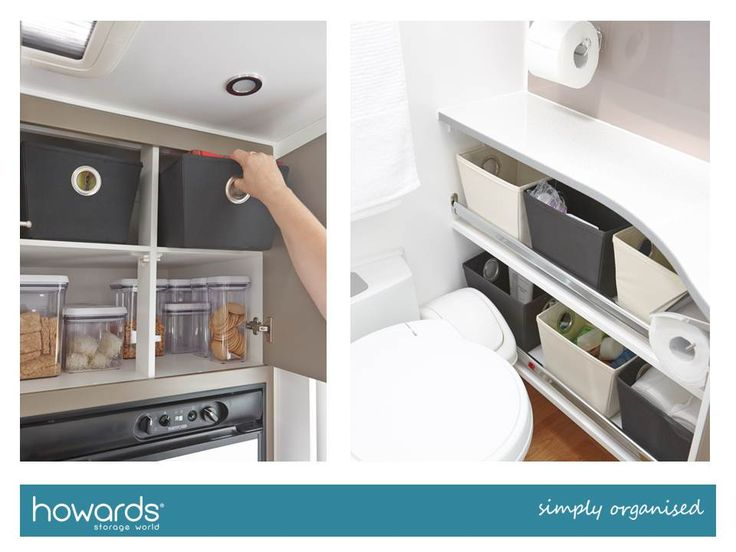 Totes are an easy way to add a little colour and style to your caravan storage. From T-Towels to tablecloths and more, you will quickly have your items well stored.