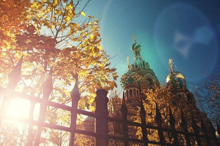 Jesień w Petersburgu