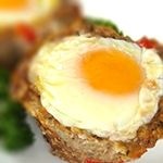 No time to cook breakfast? Make these sausage and egg muffin cups on Sunday and you'll have breakfast all week. Only 1.6g Net Carbs!