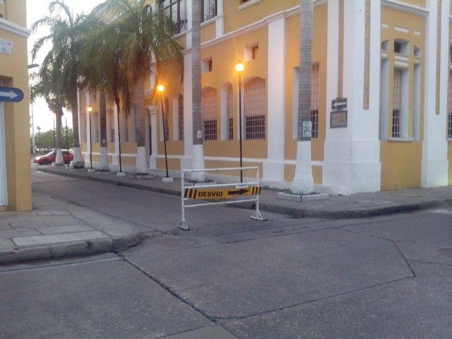 Calle larga #ConcejoCartagena