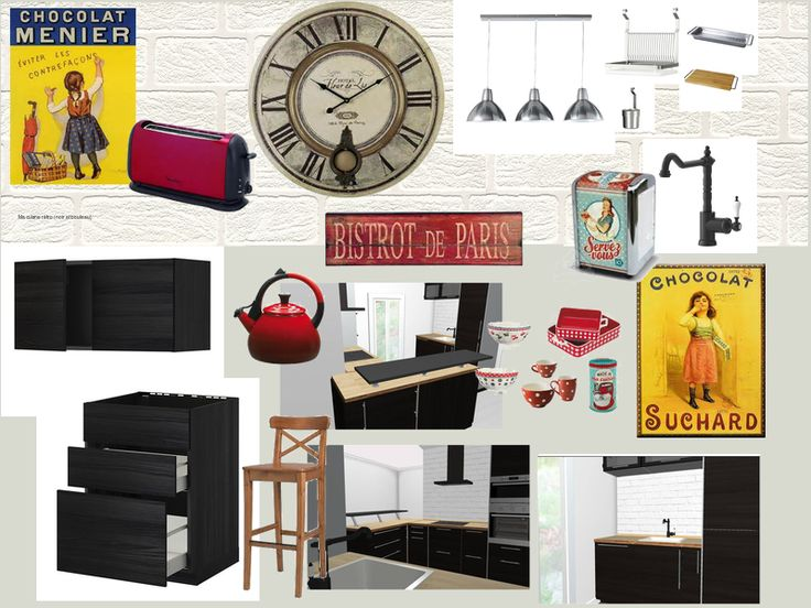 66 best id es d co cuisine images on pinterest kitchen modern interior design studio and. Black Bedroom Furniture Sets. Home Design Ideas