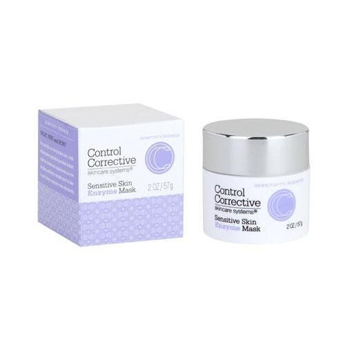 Control Corrective Sensitive Skin Enzyme Mask - 2 oz. by Control Corrective. $46.95. Control Corrective Sensitive Skin Enzyme Mask. Control Corrective Sensitive Skin Enzyme Mask not only softens and calms irritated skin on contact but also dissolves residual dead skin cell build-up too. It is a relaxing vacation in a jar for your sensitive skin. Control Corrective Sensitive Skin Enzyme Mask is a relaxing and moisturizing treatment for your sensitive skin. For sen...