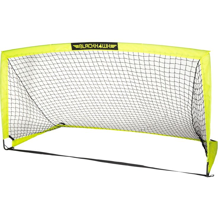 Features:  -Material: Fibreglass and steel.  -Durable construction that sets up or packs up quick and easy.  -Easily transportable using carry bag.  -Peg hooks help secure goal to ground.  -Ideal for