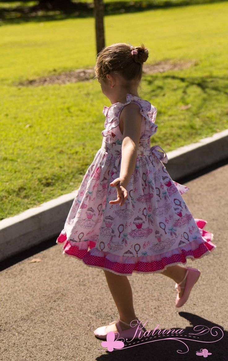 Ruthie's Woven Dress PDF Pattern from Foofoo Threads