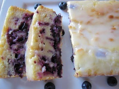 Lemon Blueberry Cake ~ Big Mama's Home Kitchen