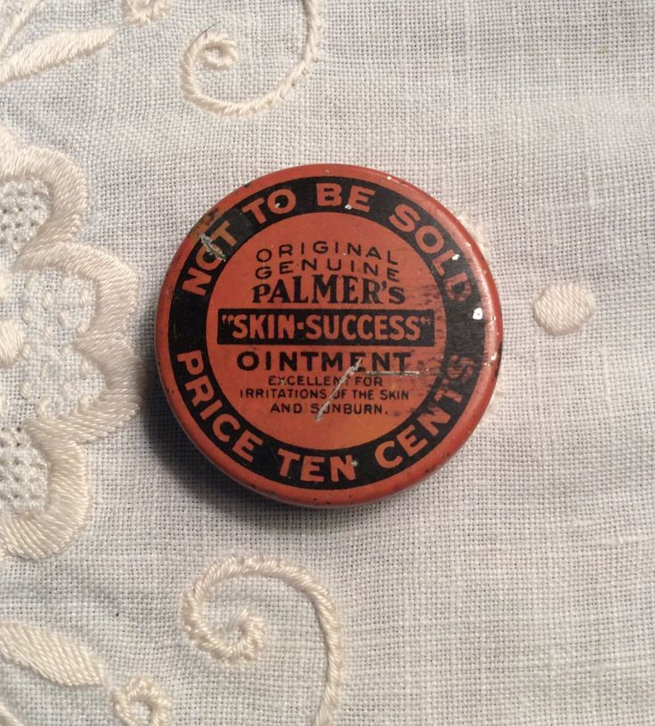 Vintage Palmer's Skin Ointment Sample Medical Tin, Antique Farmhouse Medicine Cabinet by MargiesCoolStuff on Etsy