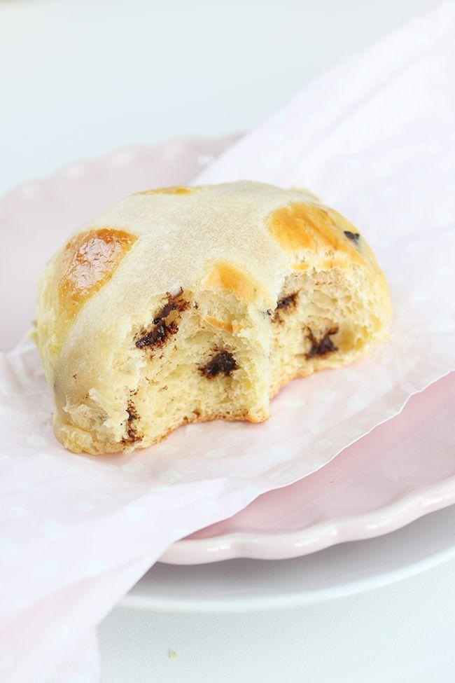 Hot cross buns chocolateados { Bollitos de Pascua }