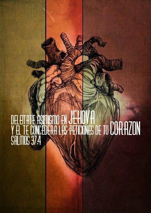 Salmo 37:4 - Deleitate asimismo en JEHOVÁ y te concederá las peticiones de tu corazón.