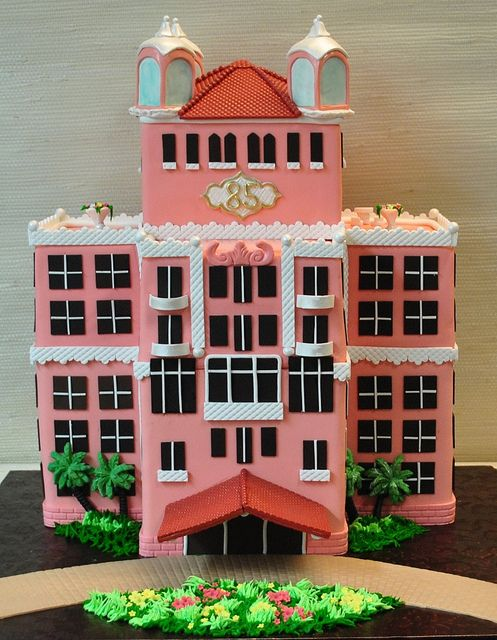 Loews Don CeSar Hotel Cake