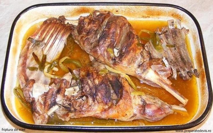 Roast lamb - Reteta friptura de miel pentru Paste
