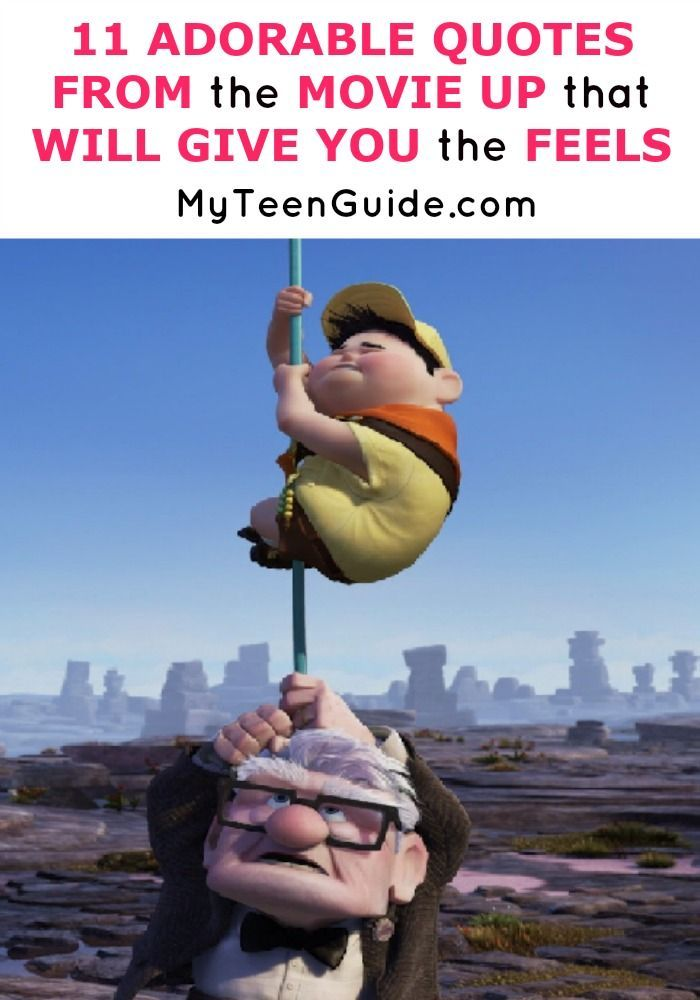 Quotes from the Movie Up That Will Give You The Feels | Up ...